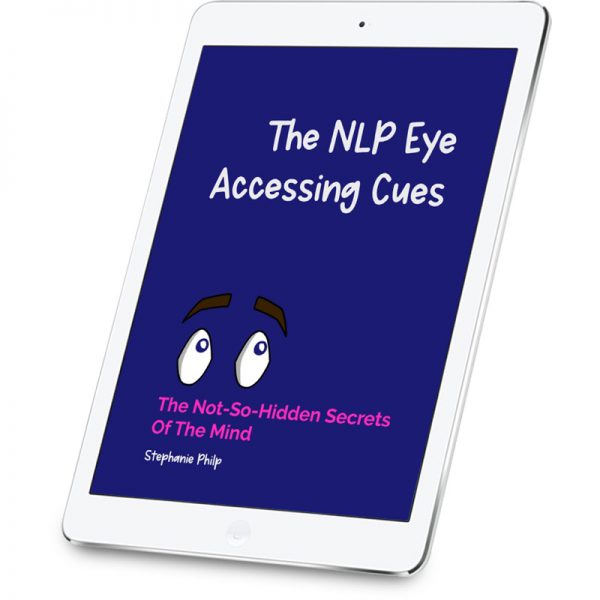 The NLP Eye Accessing Cues - on tablet