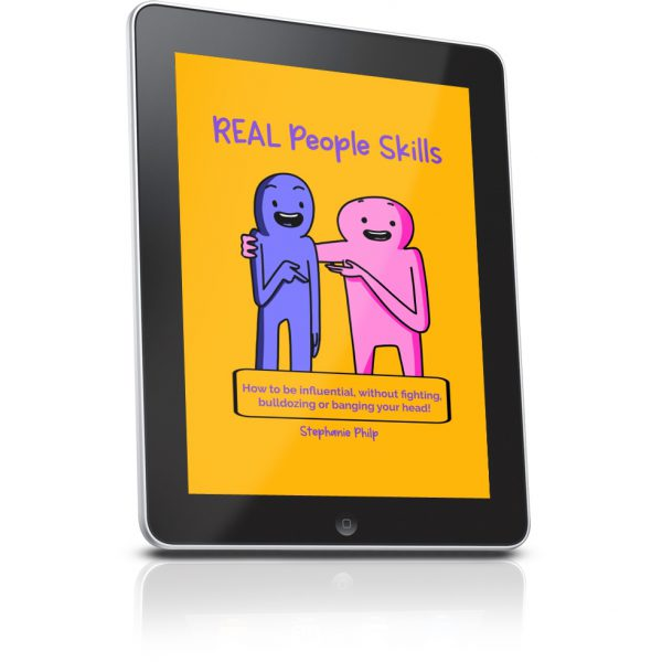 REAL People Skills eBook on Tablet