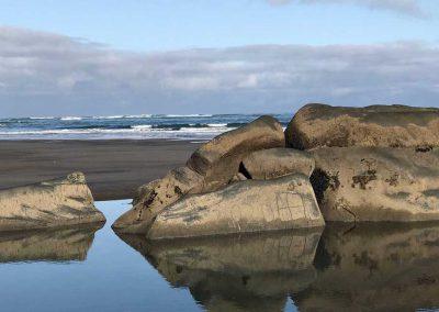 Ngarunui Elephant Rock, Raglan