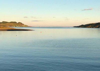 Harbour sunrise, Raglan