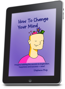 How To Change Your Mind- tablet left facing