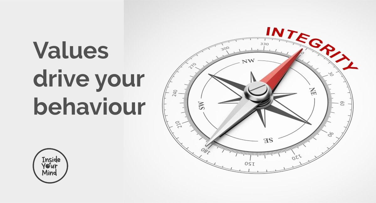 values drive behaviour