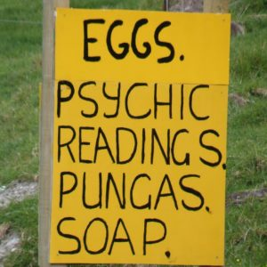 improve your sense of humour- look out for signs