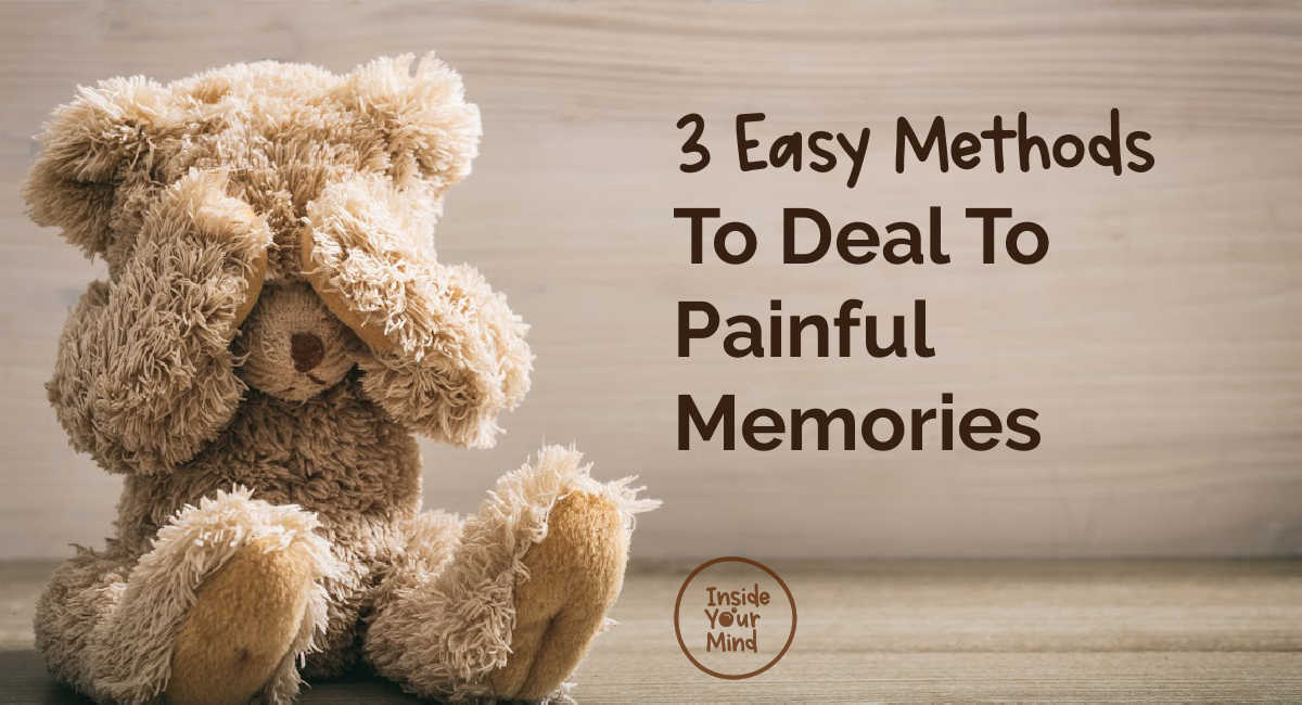 deal to painful images - teddy bear
